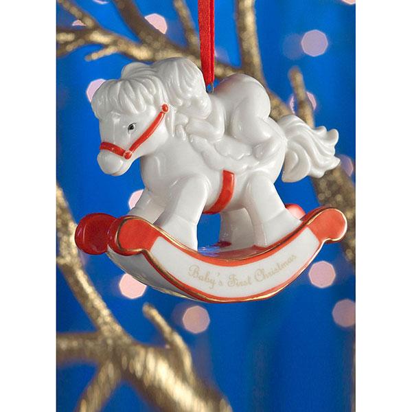 Belleek – Baby´s First Christmas Ornament